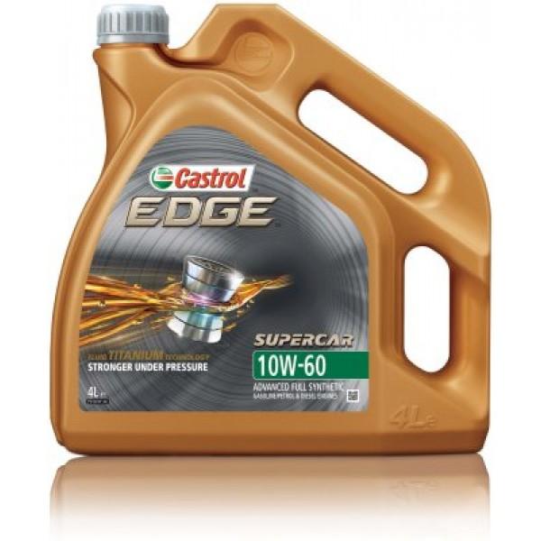 CASTROL Edge Titanium Supercar 10W60-4 L