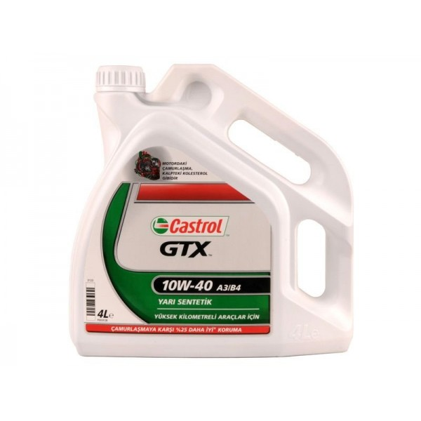 CASTROL GTX Ultraclean 10W40 A3/B4-4 L