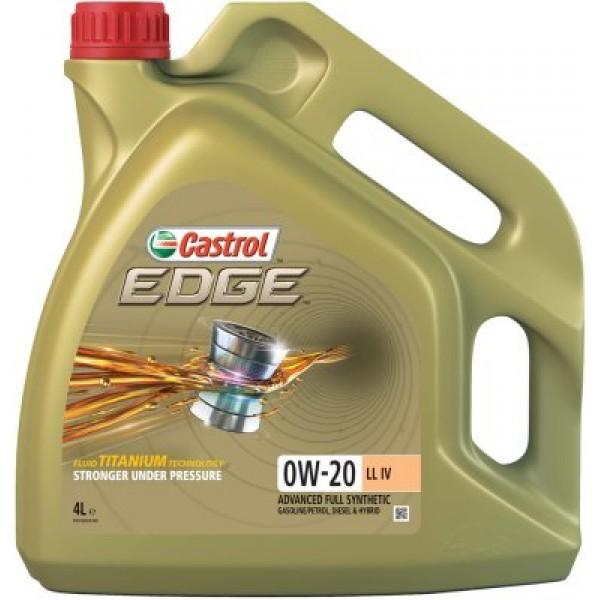 CASTROL Edge Titanium FST 0W20 LL IV (VAG)-4 L