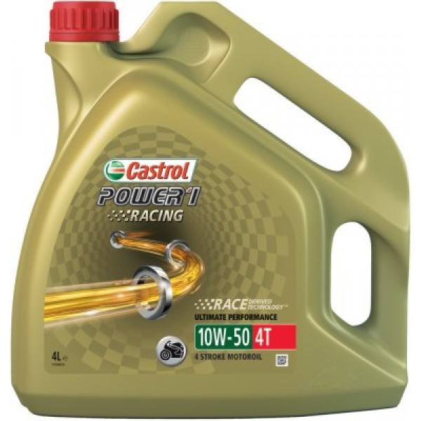 CASTROL 4T Power1 Racing 10W50 mootorrataste mootoriõli-4 L