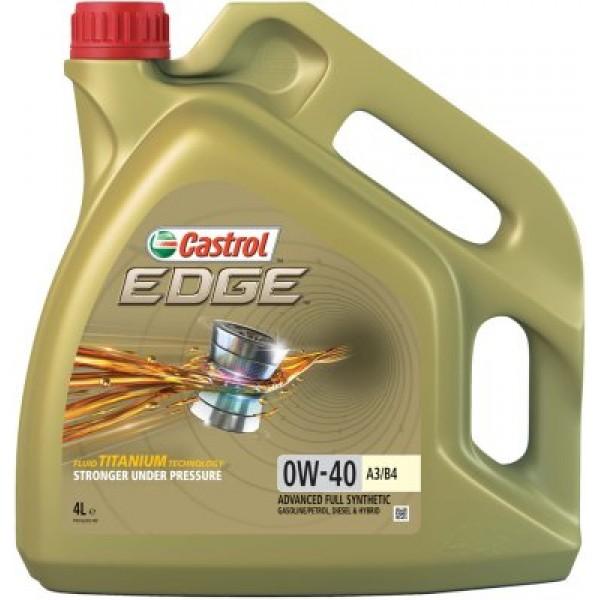 CASTROL Edge Titanium FST 0W40 A3/B4-4 L