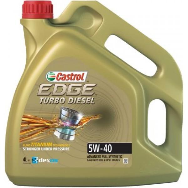 CASTROL Edge Titanium FST 5W40 TDI-4 L