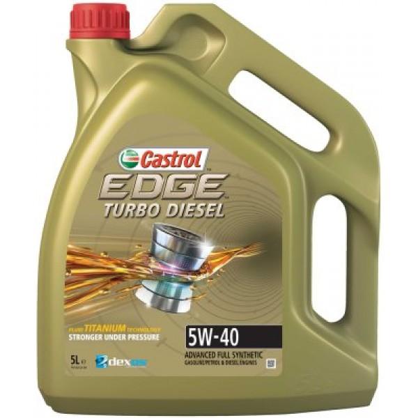 CASTROL Edge Titanium FST 5W40 TDI-5 L