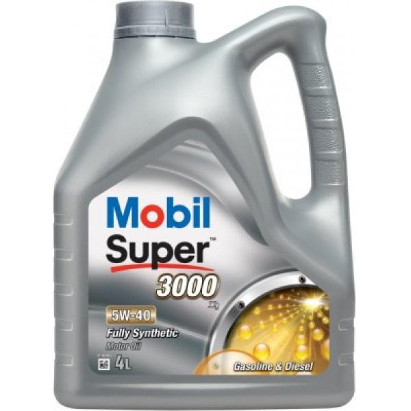 MOBIL Super 3000 X1 5W40-4 L