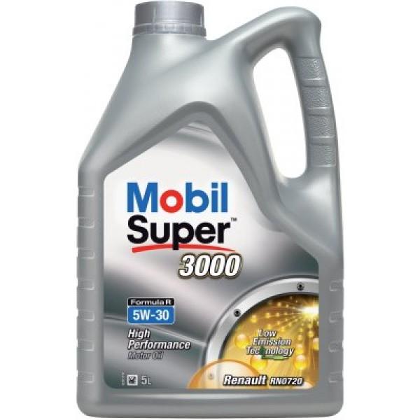 MOBIL Super 3000 Formula R 5W30 (Renault Nissan)-5 L