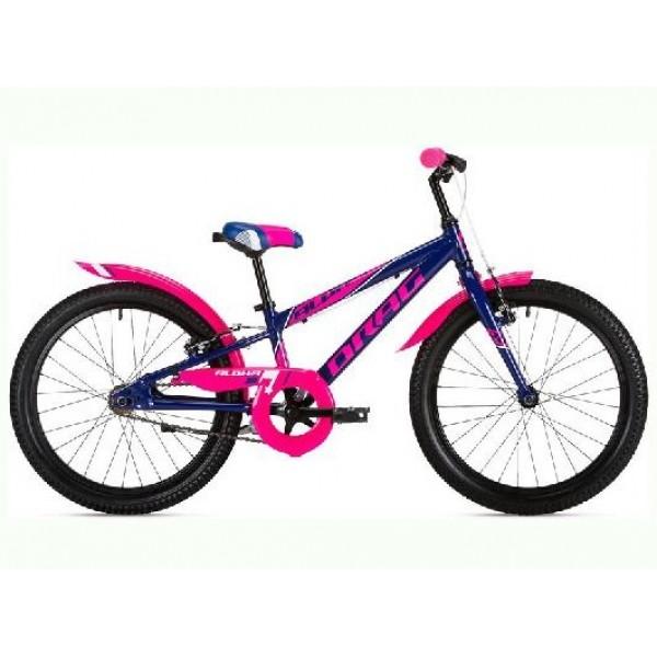 Jalgratas Drag 20 Alpha SS sinine roosa