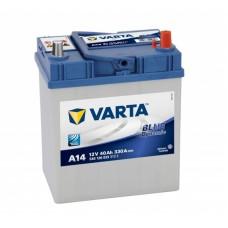 VARTA A14 40 Ah 330 A 0 (- +) 187x127x227