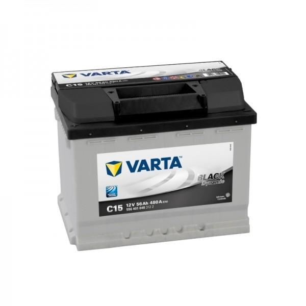 VARTA C15 56 Ah 480 A 1 (+ -) 242x175x190