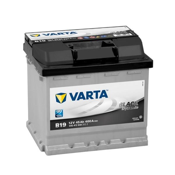 VARTA B19 45 Ah 400 A 0 (- +) 207x175x190