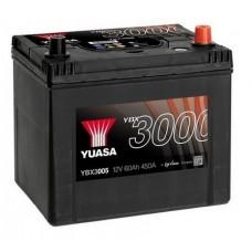 YUASA YBX3005 60Ah 450A SMF  0(- +) 232x175x225