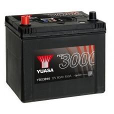 YUASA YBX3014 60Ah 450A SMF  1(+ -) 232x175x225