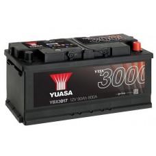 YUASA YBX3017 90Ah 740A SMF  0(- +) 353x175x175