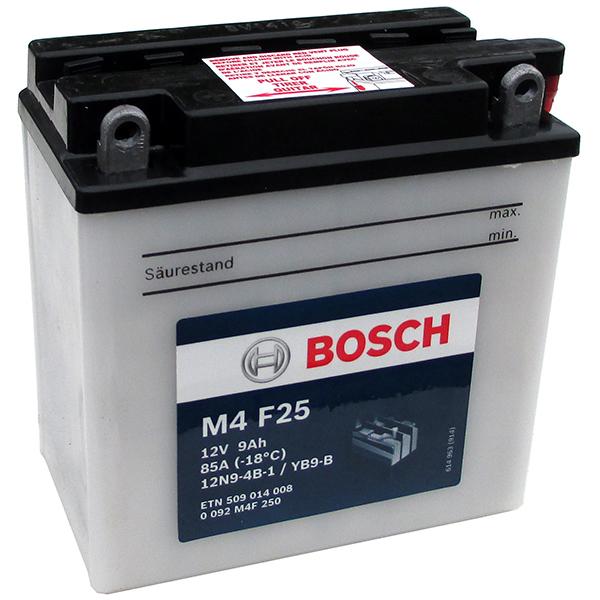 BOSCH M4F25 MC Fresh pack 12 V 9 Ah 85 A 4 136x76x140