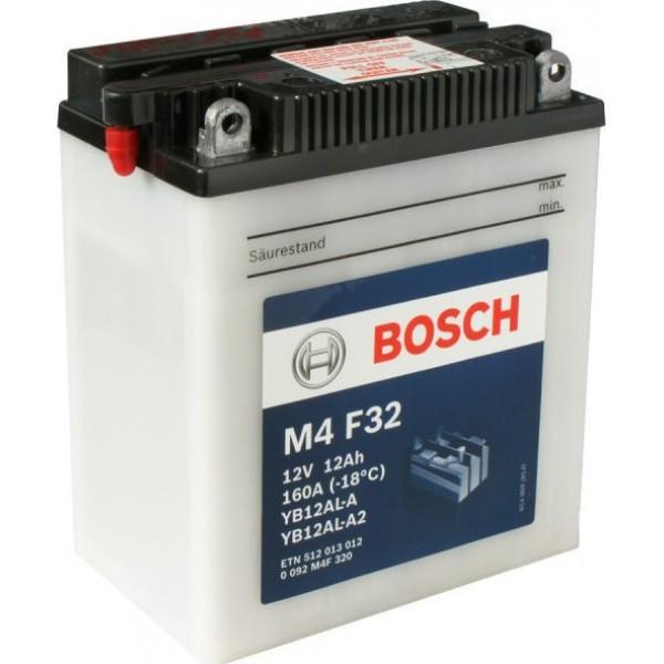 BOSCH M4F32 MC Fresh pack 12 V 12 Ah 160 A 3 136x82x162
