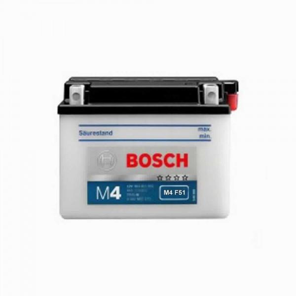 BOSCH M4F51 MC Fresh pack 12 V 24 Ah 200 A 4 186x125x178