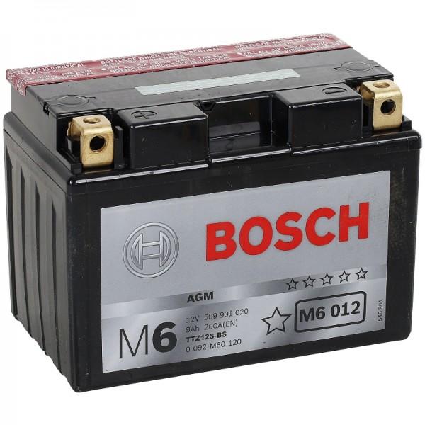 BOSCH M6 012 MC AGM 12 V 9 Ah 200 A 4 150x87x110
