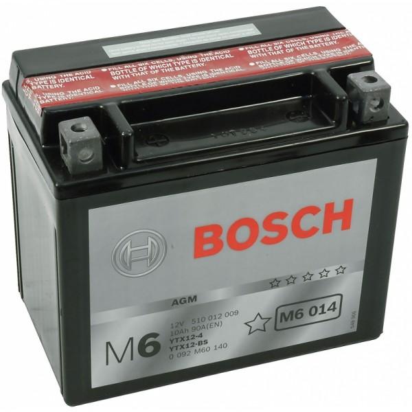 BOSCH M6 014 MC AGM 12 V 10 Ah 90 A 4 152x88x131