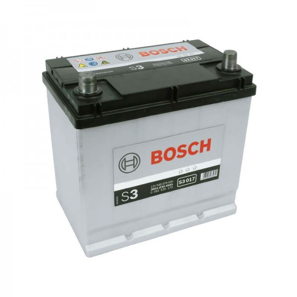 BOSCH S3 017 45 Ah 300 A 1 (+ -) 219x135x225