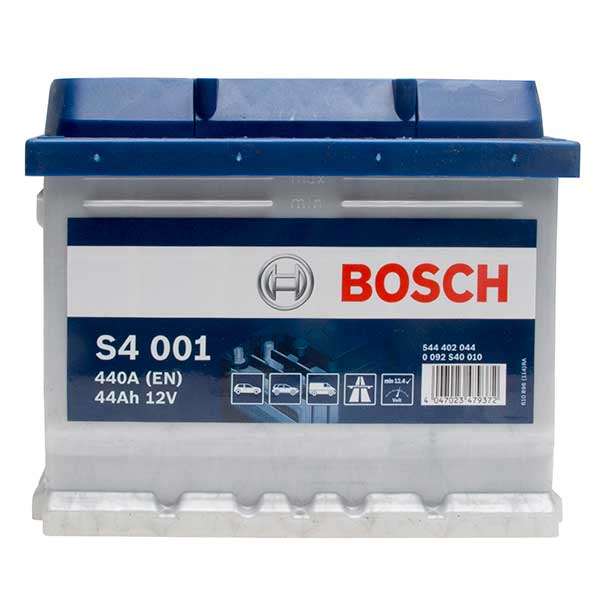 BOSCH S4 001 44 Ah 440 A 0 (- +) 207x175x175
