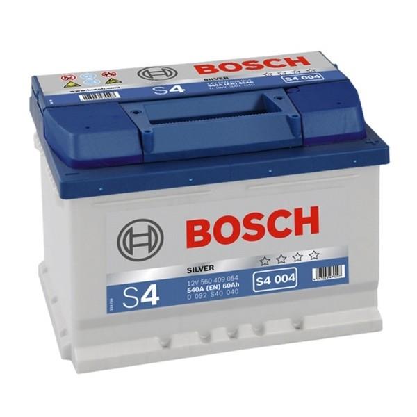 BOSCH S4 004 60 Ah 540 A 0 (- +) 242x175x175