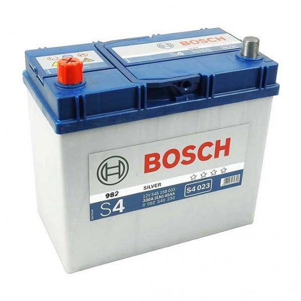 BOSCH S4 023 45 Ah 330 A 1 (+ -) 238x129x227