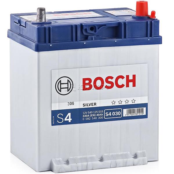 BOSCH S4 030 40 Ah 339 A 0 (- +) 187x127x227