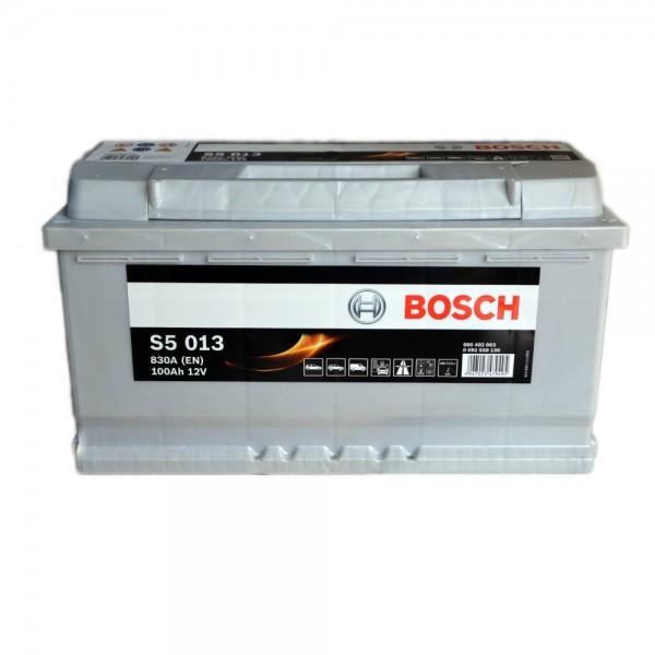 BOSCH S5 013 100 Ah 830 A 0 (- +) 353x175x190