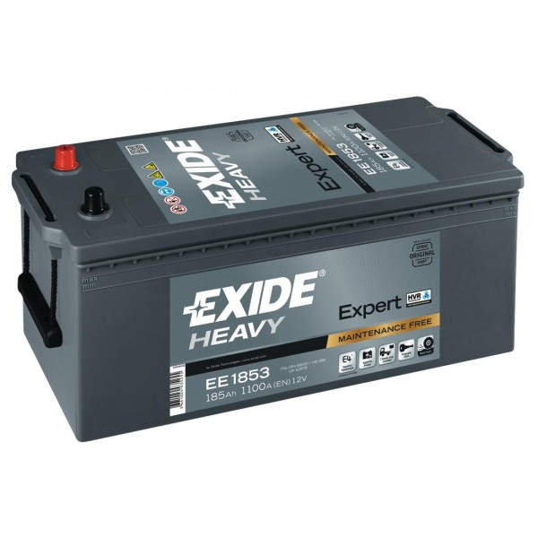 EXIDE EE1853  SHD Expert 185Ah 1100A (+ -) 513x223x223