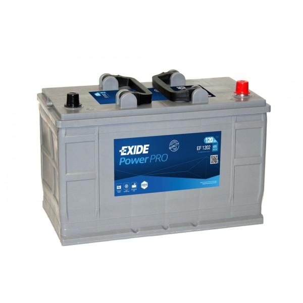 EXIDE EF1202  Professional Power 120Ah 870A (- +) 349x175x235