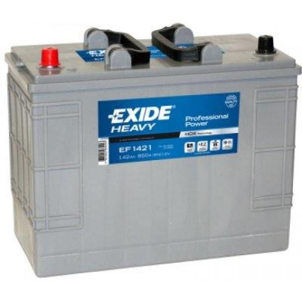 EXIDE EF1421  Professional Power 142Ah 850A (+ -) 349x175x290