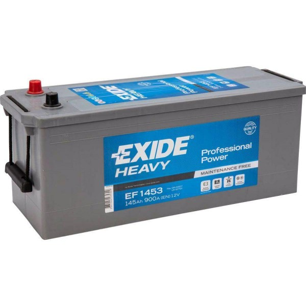 EXIDE EF1453  Professional Power 145Ah 900A (+ -) 513x189x223