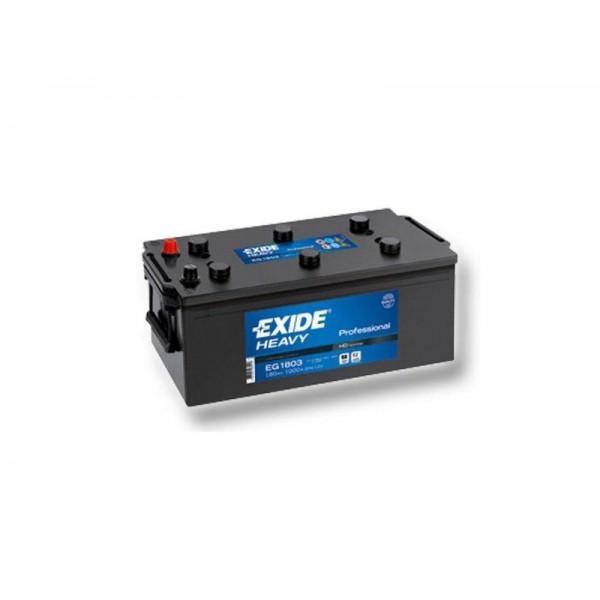 EXIDE EG1803  HD Professional 180Ah 1000A (+ -) 513x223x223