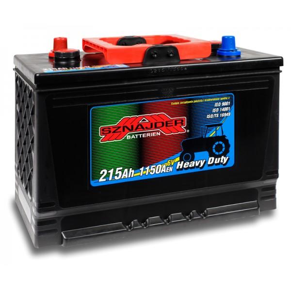 SZNAJDER 215 17 Agro Heavy Duty 215 Ah 1150 A O(- +) 334x175x213/240