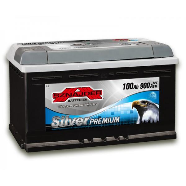 SZNAJDER 600 35 Silver Premium 100 Ah 900 A O(- +) 350x175x190