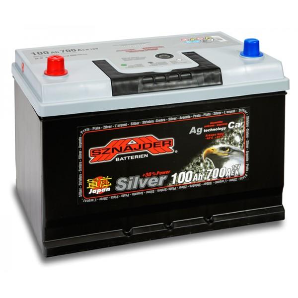 SZNAJDER 600 72 SILVER JAPAN 100 Ah 700 A 1(+ -) 303x175x200/220