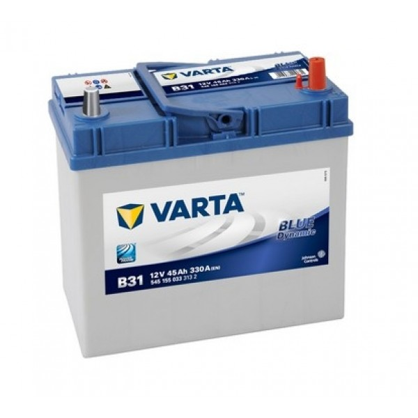 VARTA B31 45 Ah 330 A 0 (- +) 238x129x227