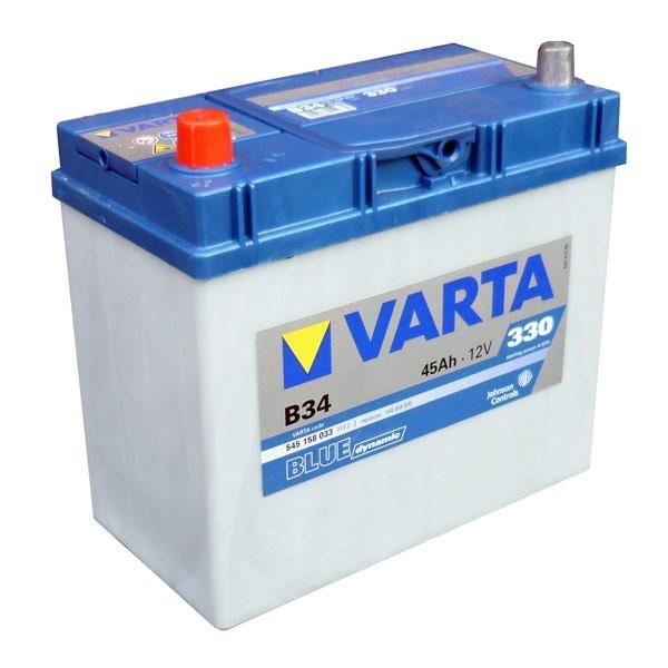 VARTA B34 45 Ah 330 A 1 (+ -) 238x129x227
