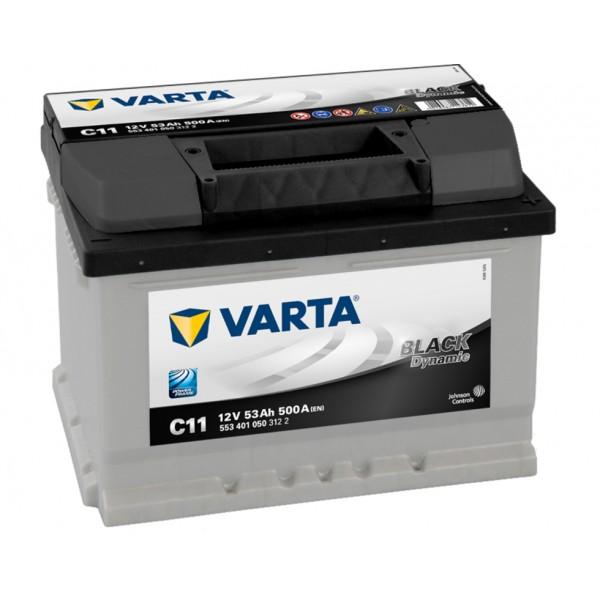 VARTA C11 53 Ah 500 A 0 (- +) 242x175x175