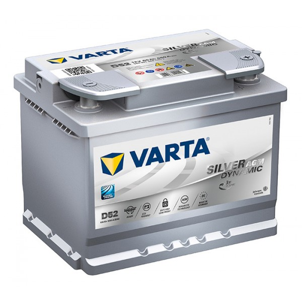 VARTA TA01 60 Ah 680 A 0 (- +) 242x175x190
