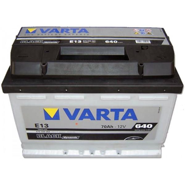 VARTA E13 70 Ah 640 A 0 (- +) 278x175x190