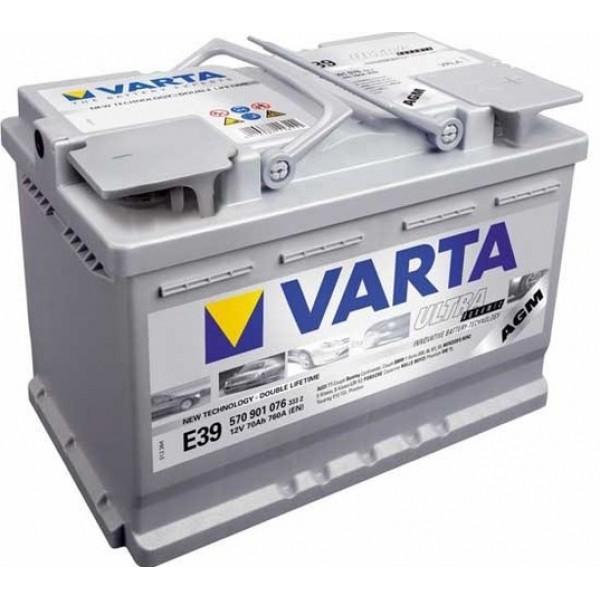 VARTA TA02 70 Ah 760 A 0 (- +) 278x175x190