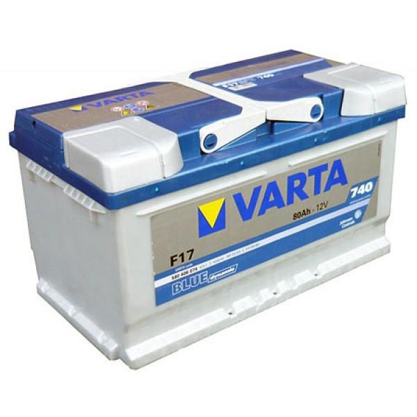 VARTA F17 80 Ah 740 A 0 (- +) 315x175x175