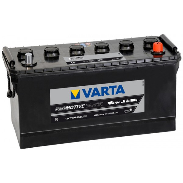 VARTA I6 110 Ah 850 A 0 (- +) 413x175x220