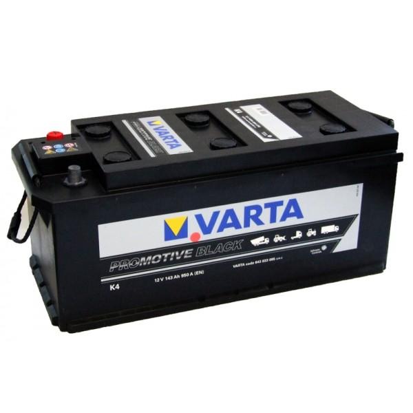 VARTA K4 143 Ah 950 A 3 514x218x210
