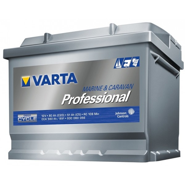 VARTA LFD60 60 Ah 560 A 0 (- +) 242x175x190