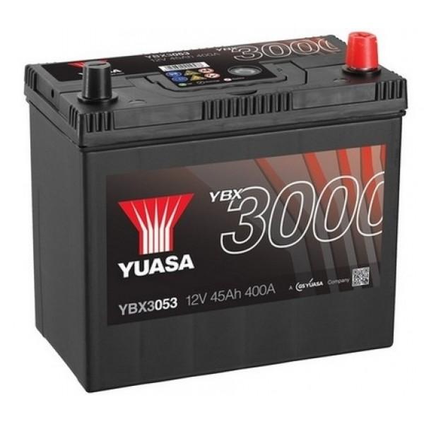 YUASA YBX3053 45Ah 400A SMF  0(- +) 238x129x223