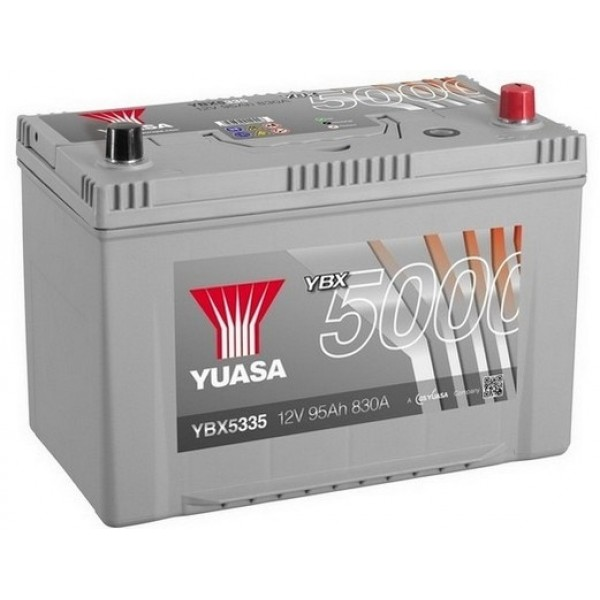 YUASA YBX5335 95Ah 830A Silver High Performance  0(- +) 303x174x222
