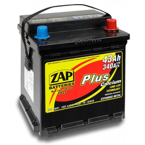 ZAP 543 08 Plus 43 Ah 340 A O(- +) 175x175x190
