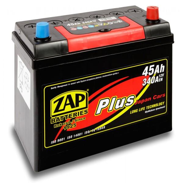 ZAP 545 23 Plus Japan Cars 45 Ah 340 A O(- +) 238x128x198/220