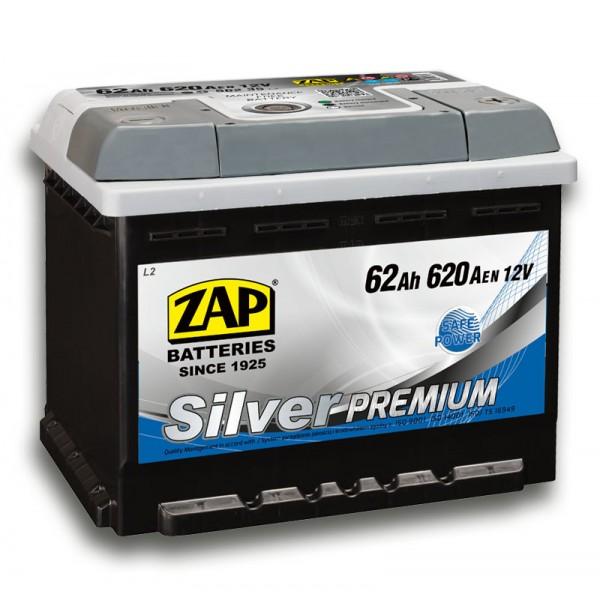 ZAP 562 35 Silver Premium 62 Ah 620 A O(- +) 242x175x190